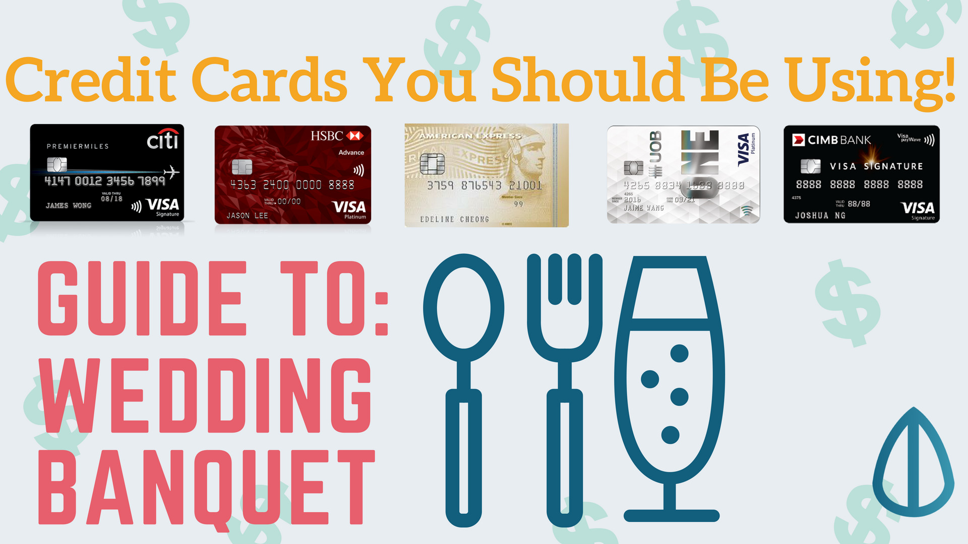 Credit cards to use for wedding