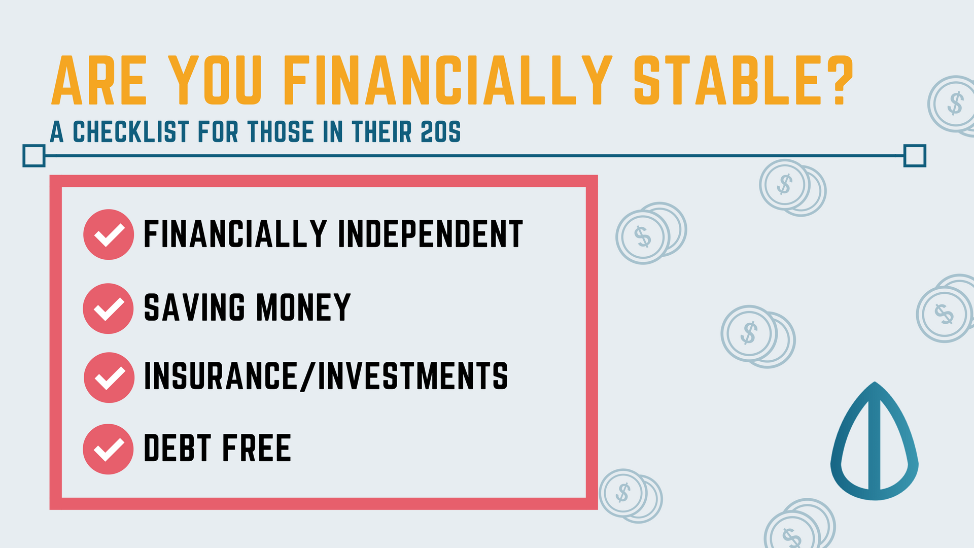 Checklist for financial stability