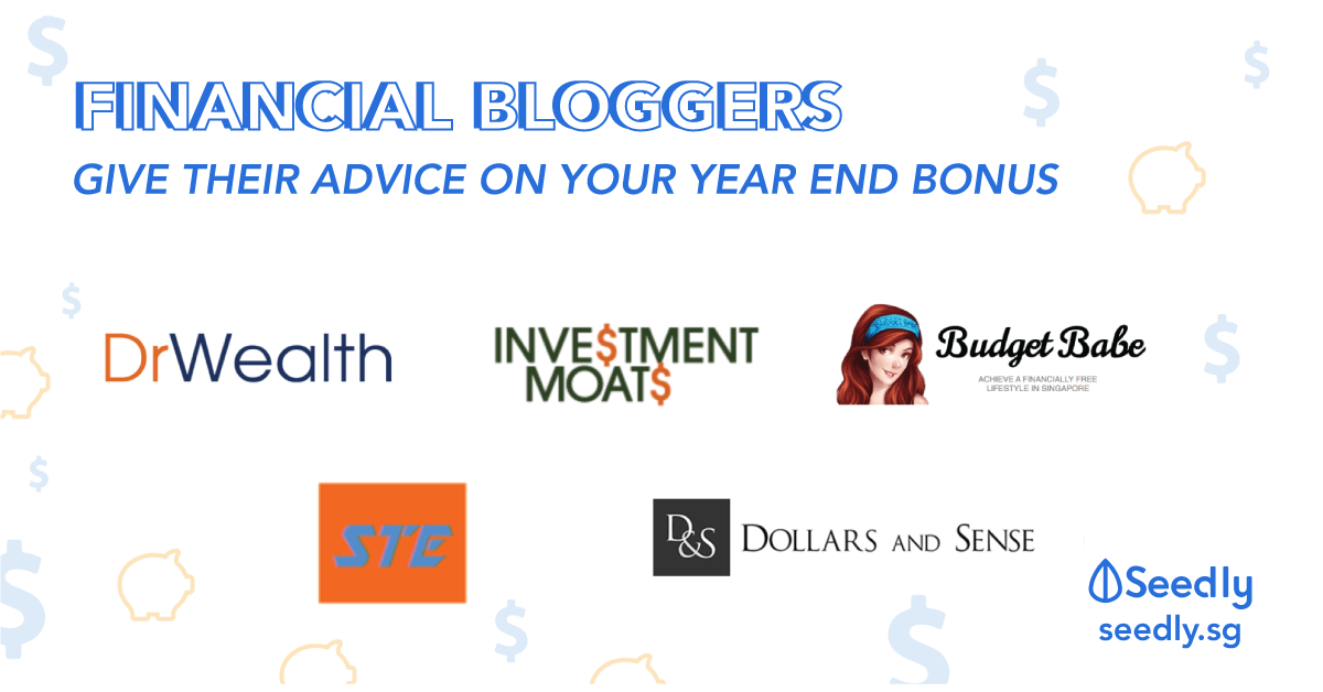 Top Singapore Personal Finance Bloggers on Year End Bonuses