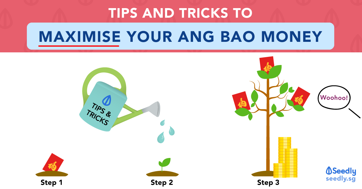 Tips And Tricks To Maximise Your Ang Bao Money This CNY
