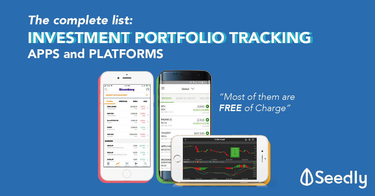 The Complete List of The Best Investment Portfolio Tracking Apps and