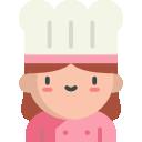Baker In Pink Smock