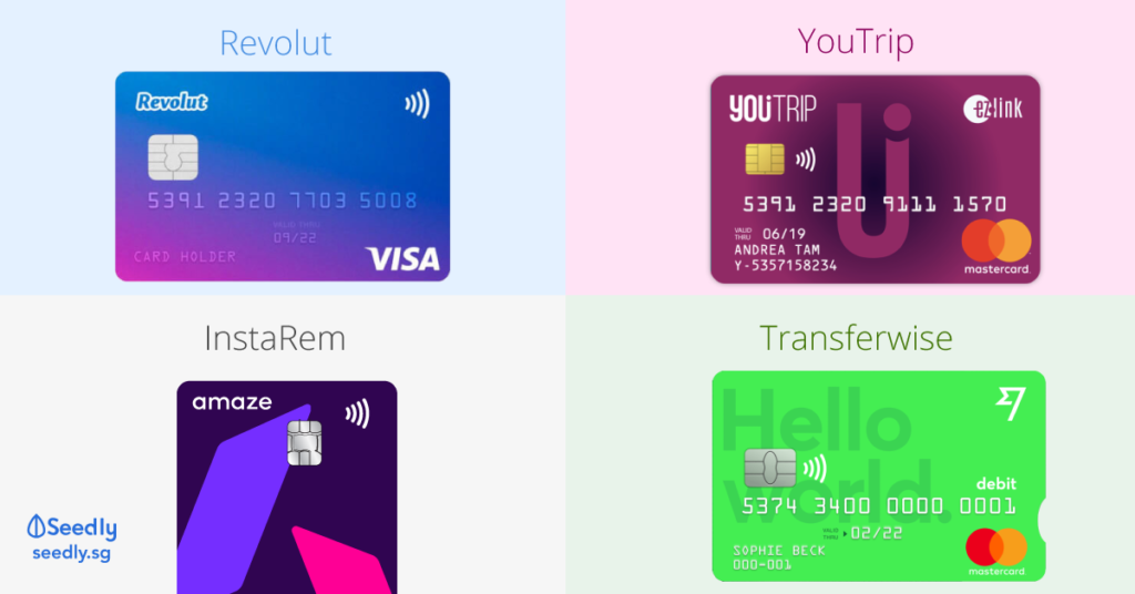 multicurrency card youtrip revolut transferwise