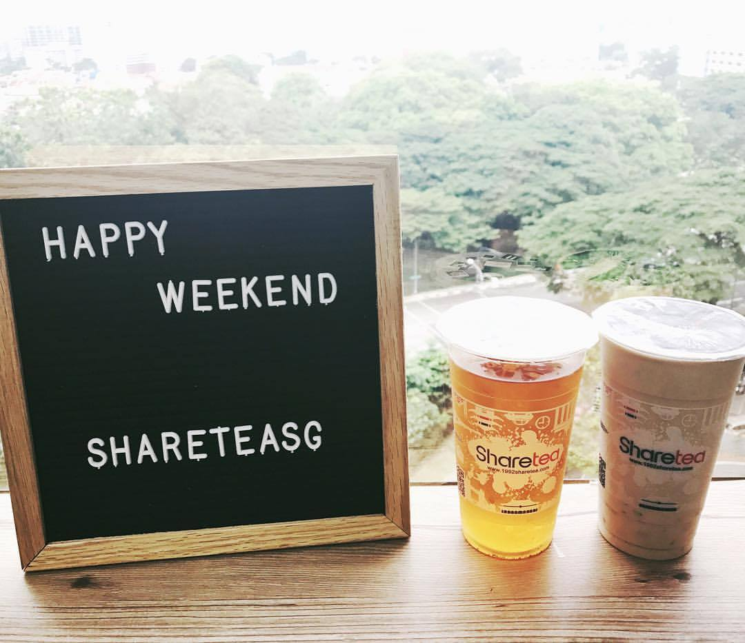 Sharetea SG Bubble tea