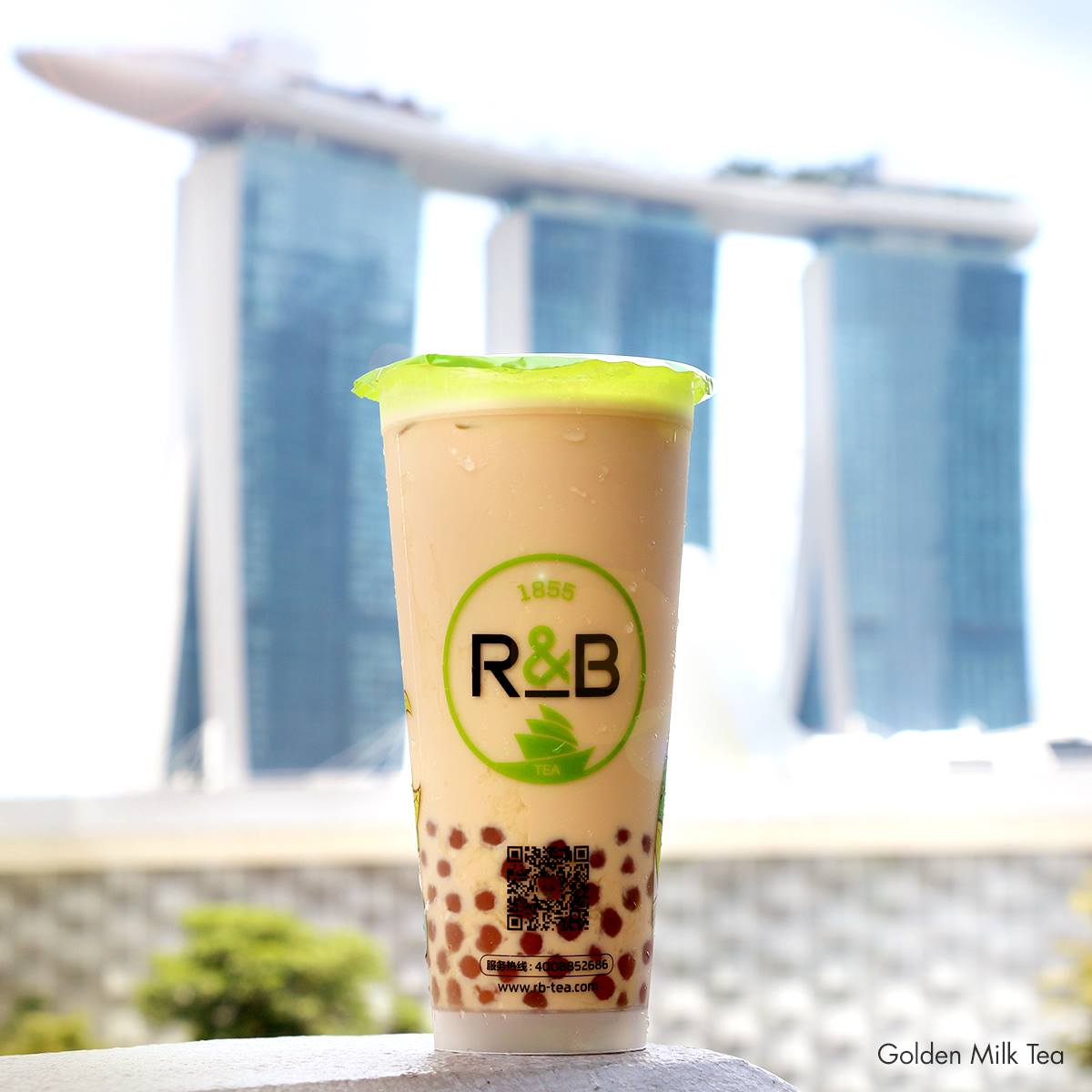 Golden milk tea R&B Singapore