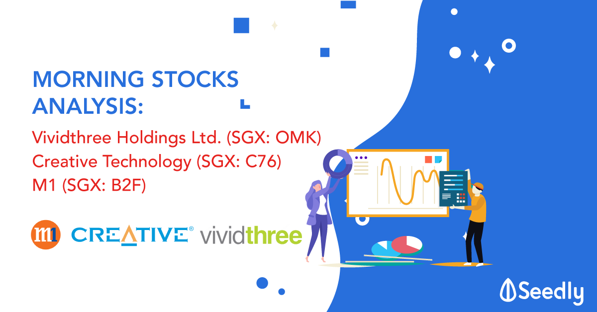 3 Interesting Stocks You Might Have Missed Out – M1, Vividthree, Creative