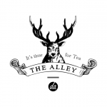 The Alley bubble milk tea logo