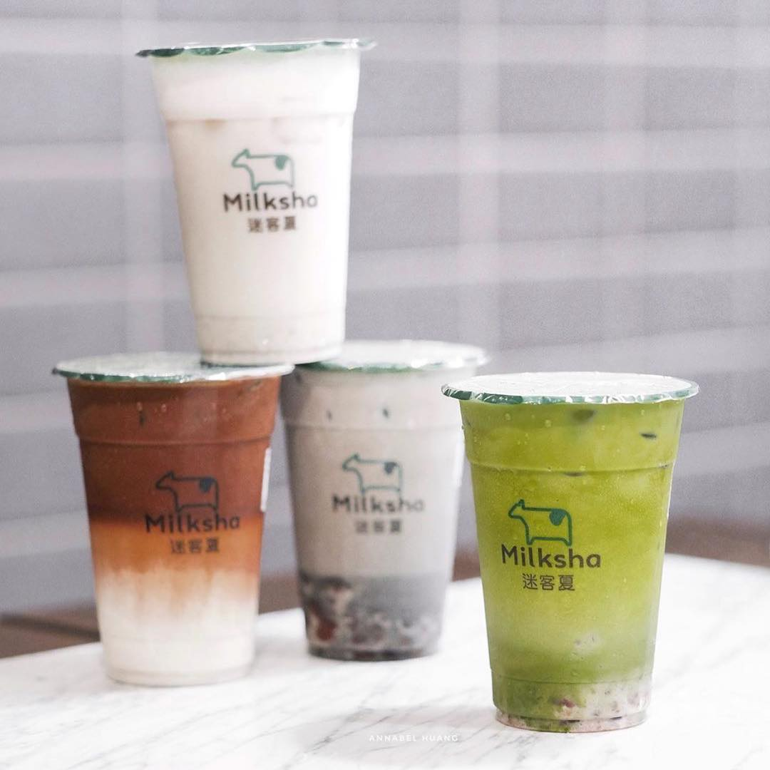 Milksha Singapore bubble tea
