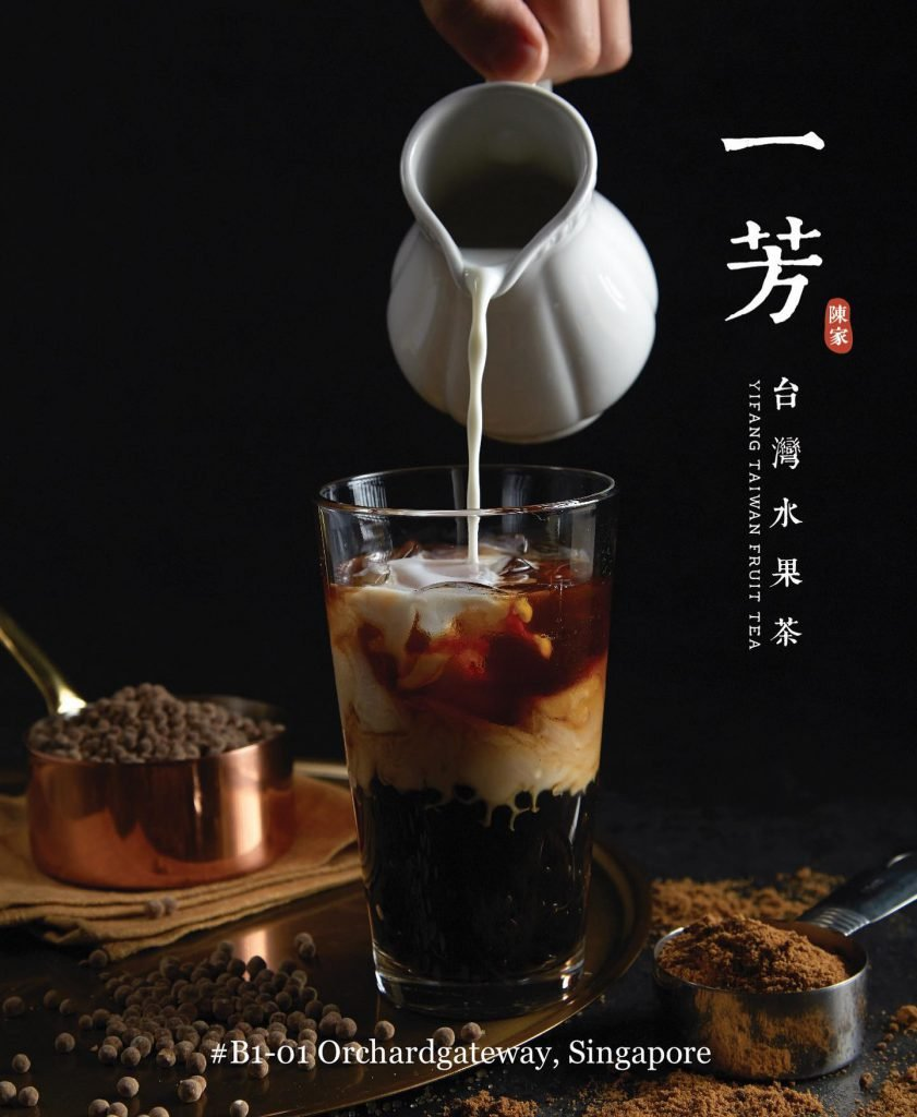 Yifang Taiwan Fruit tea singapore bubble tea brand