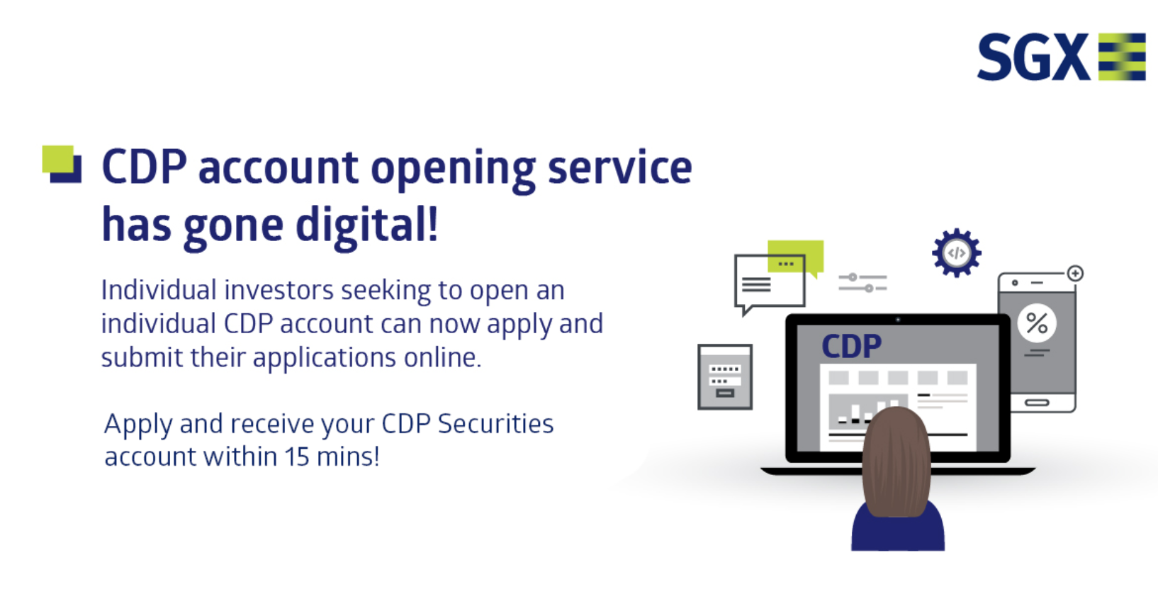 SGX CDP online opening