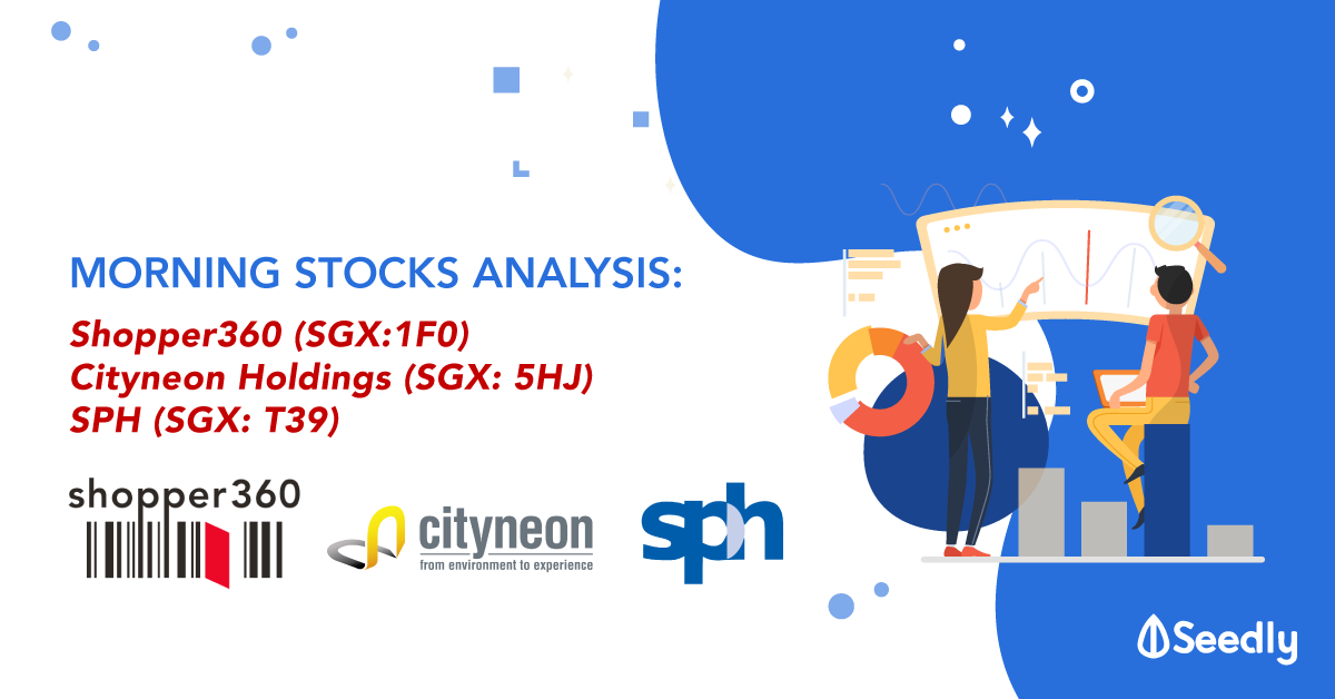 Here are 3 Interesting Stocks You Can't Miss! - Shopper360, Cityneon and SPH