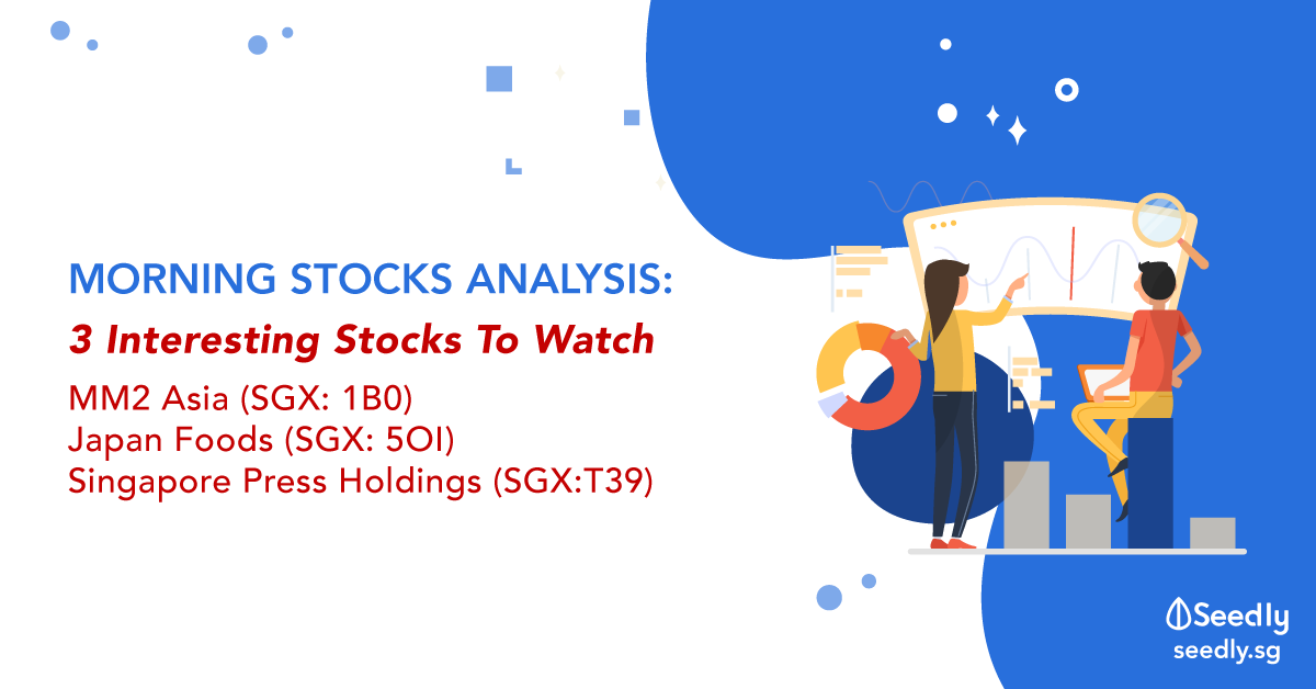 3 Interesting Stocks to Watch For The Past Week – mm2 Asia, Japan Foods' and SPH
