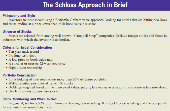 The Schloss Approach