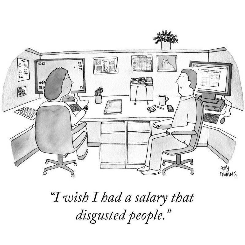 Salary That Disgusted People