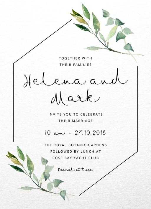 Online Wedding Invite