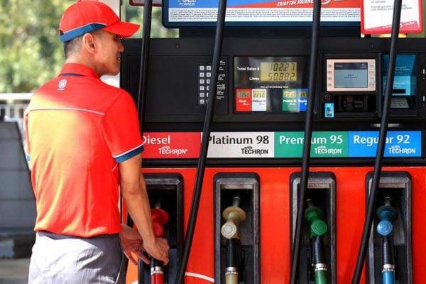 Caltex Petrol Pump Attendant
