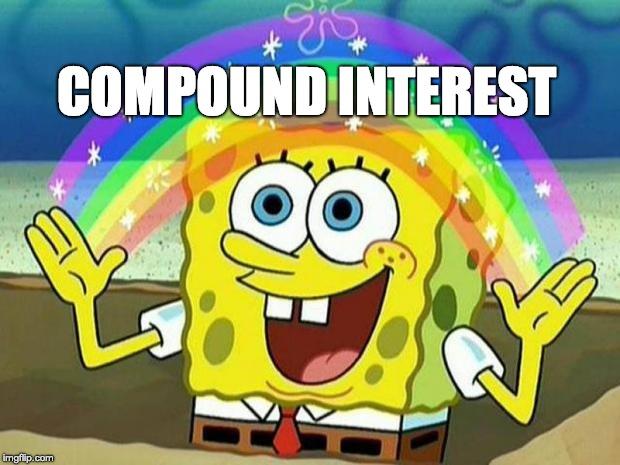 SpongeBob Squarepants Compound Interest