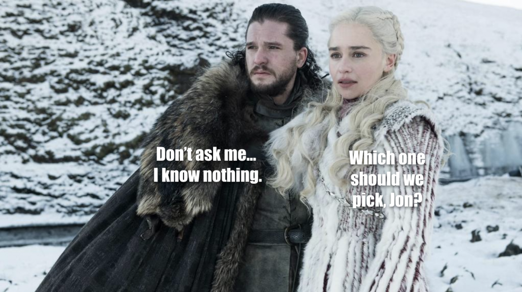 Jon And Daenerys Looking Into Horizon