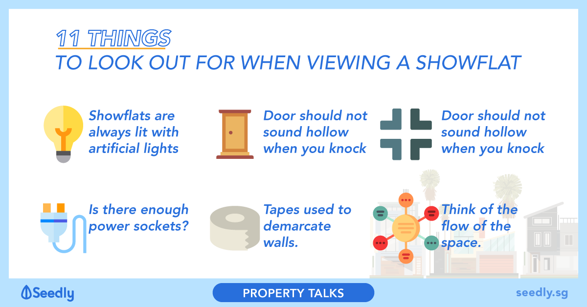 11 Things To Look Out For When Viewing A Showflat
