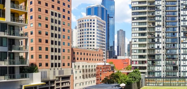 View Of Melbourne From Condo
