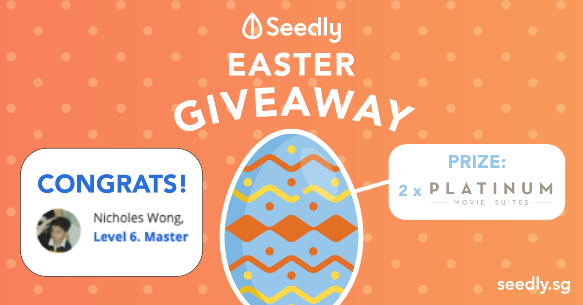 Seedly Easter Giveaway Winner Announced