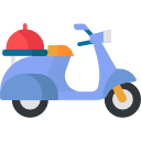 Food Delivery Scooter