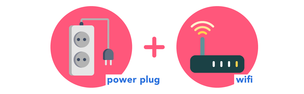power plug wifi places to work stufy for free