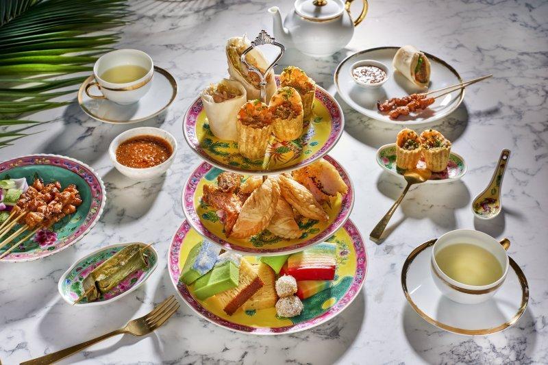 Lobby Lounge Shangri-La Hotel High Tea