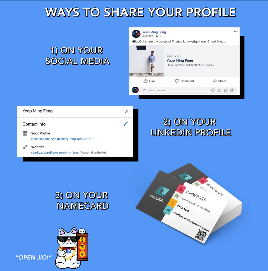 how to share profile