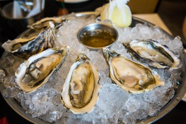 Oysters from The Black Swan