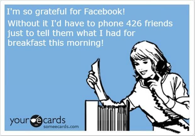 Grateful For Facebook