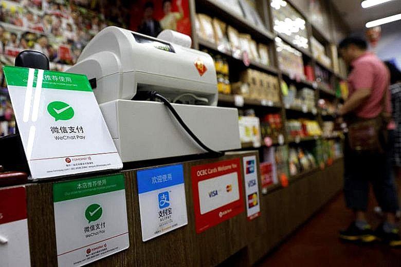 WeChat Pay Singapore Cashier