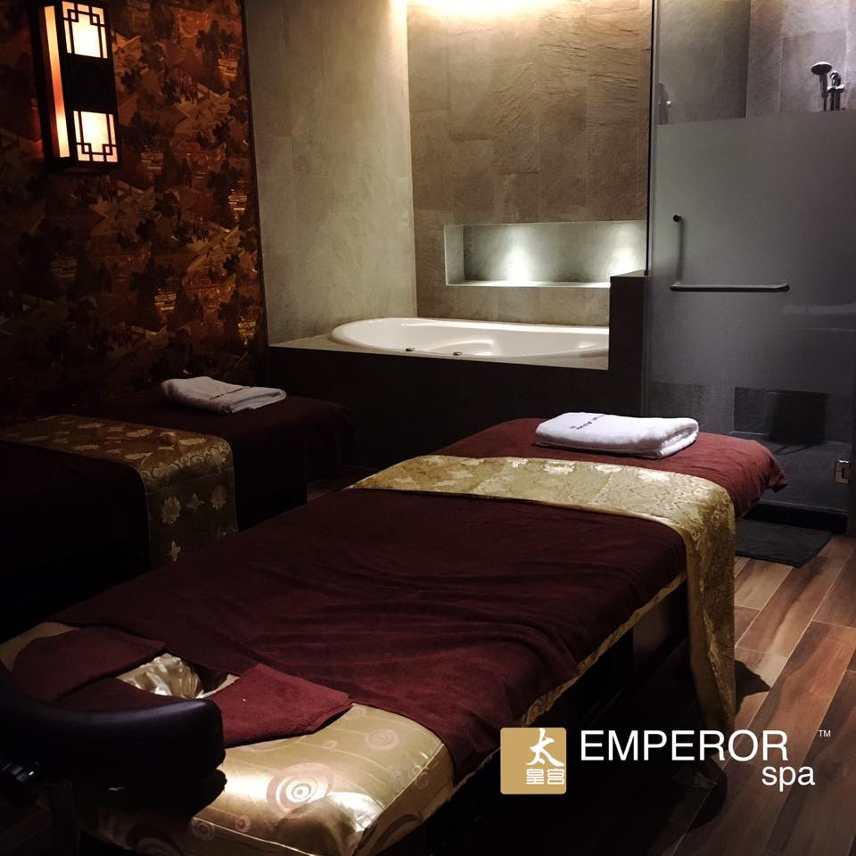 Emperor Spa Massage Room
