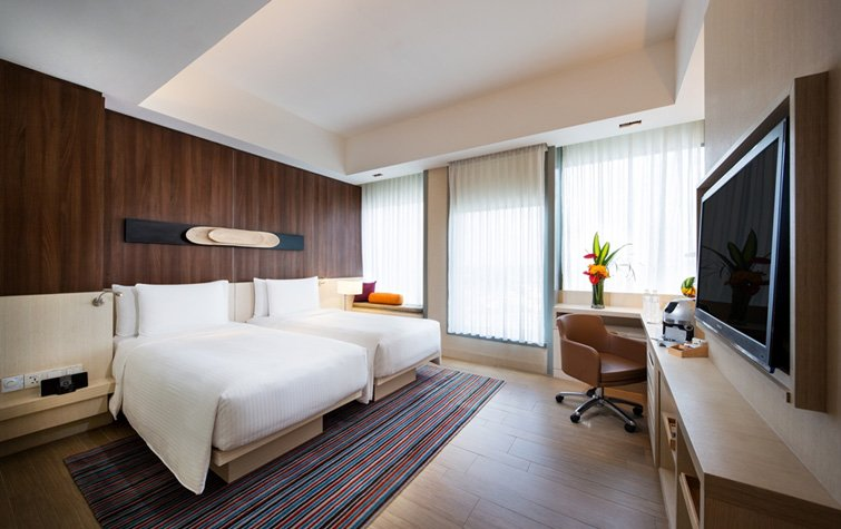 Oasia hotel novena stay far east