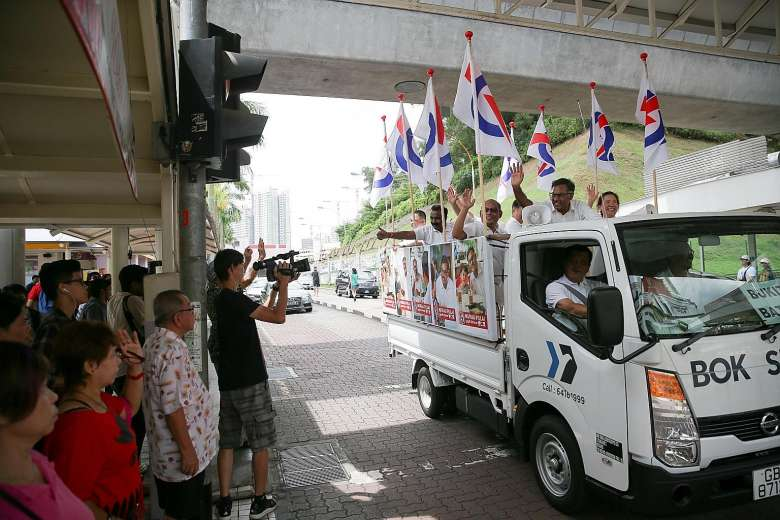 Election lorry singapore
