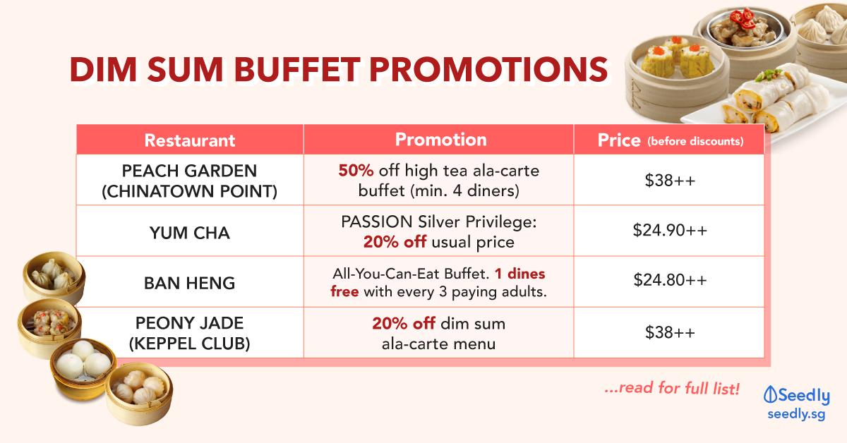 dim sum buffet promotions singapore