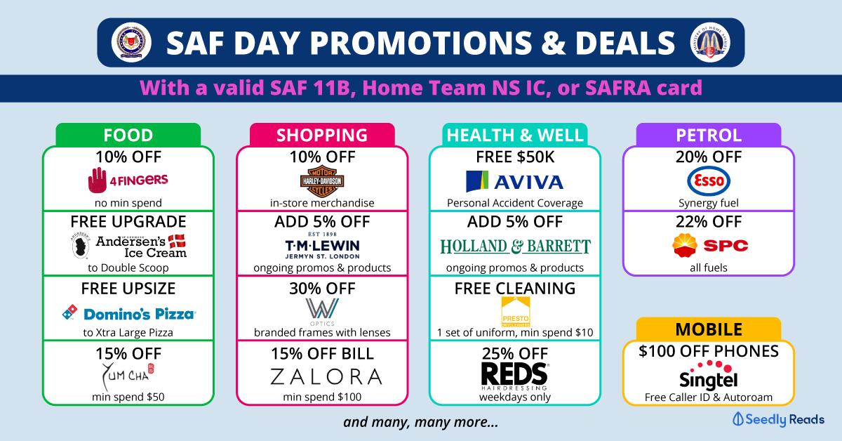 Seedly SAF Day Promo
