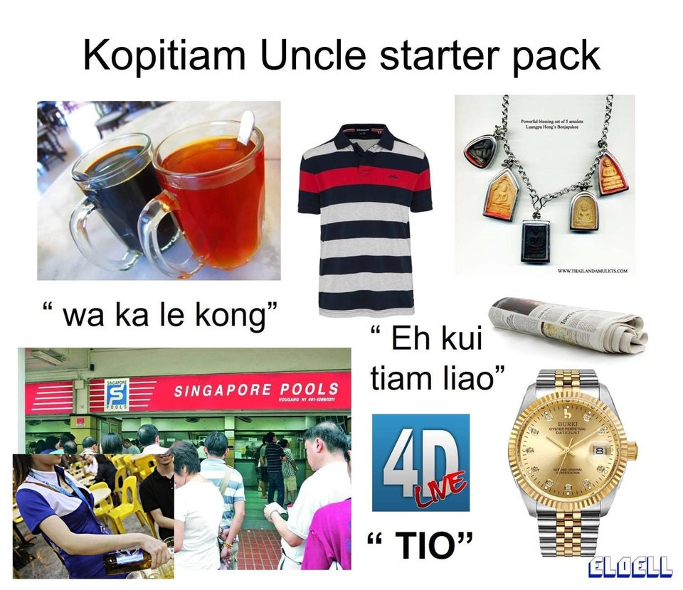 Kopitiam Uncle Starter Pack