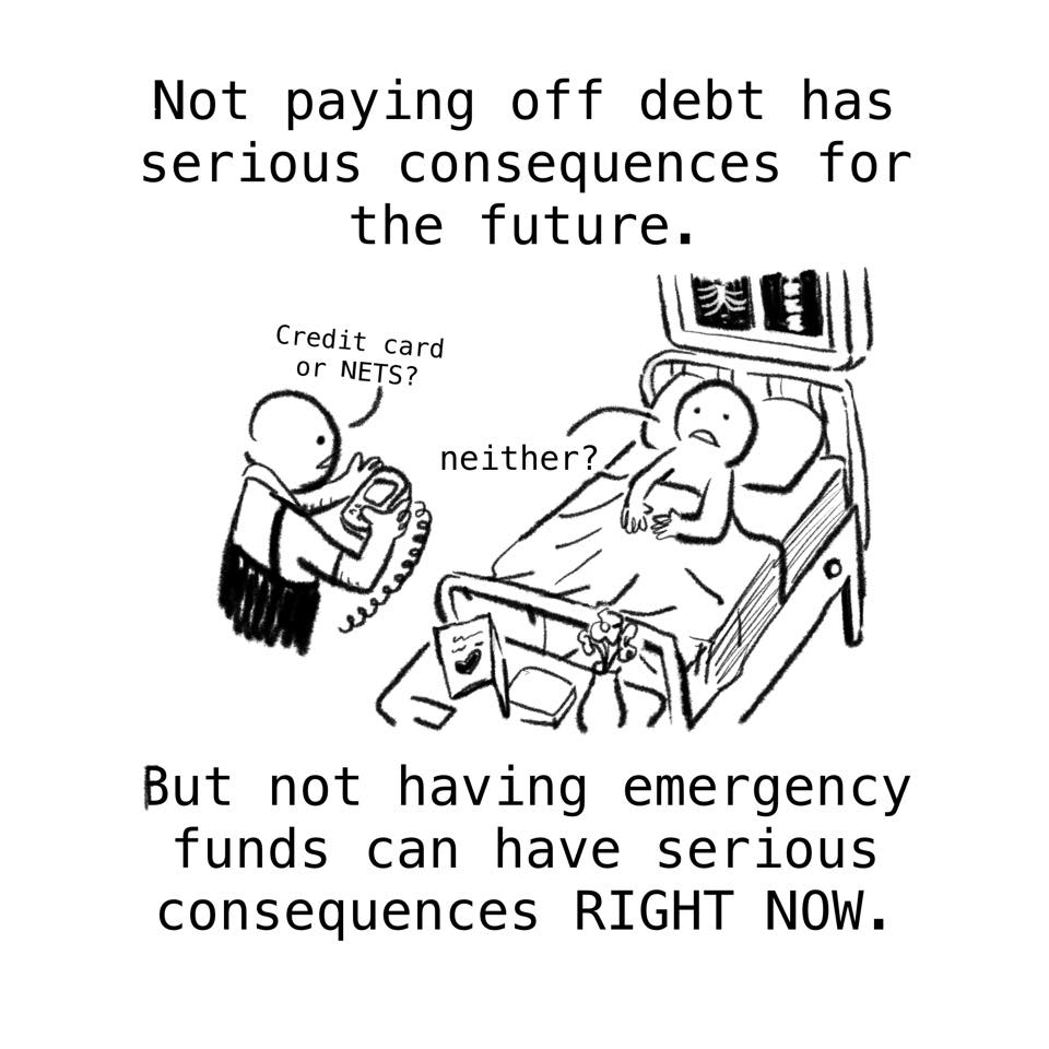Woke Salaryman How To Get Out Of Debt 26