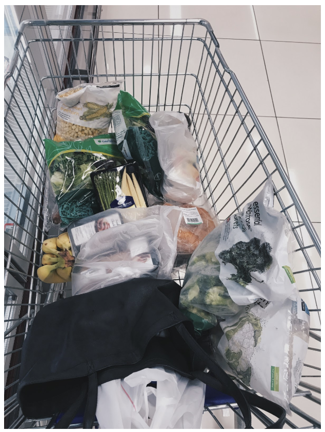 Trolley for meal prepping