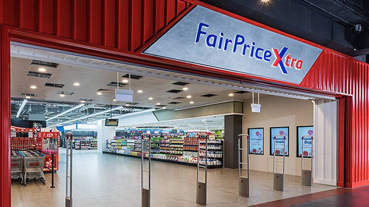 Entrace of FairPrice Xtra