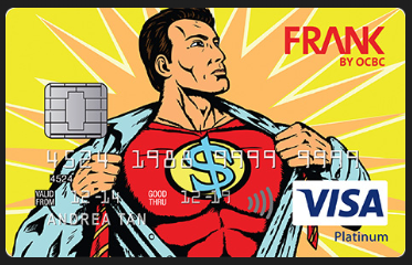 OCBC Frank Card Dollar Man