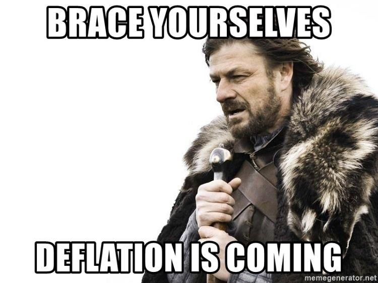 Deflation Is Coming