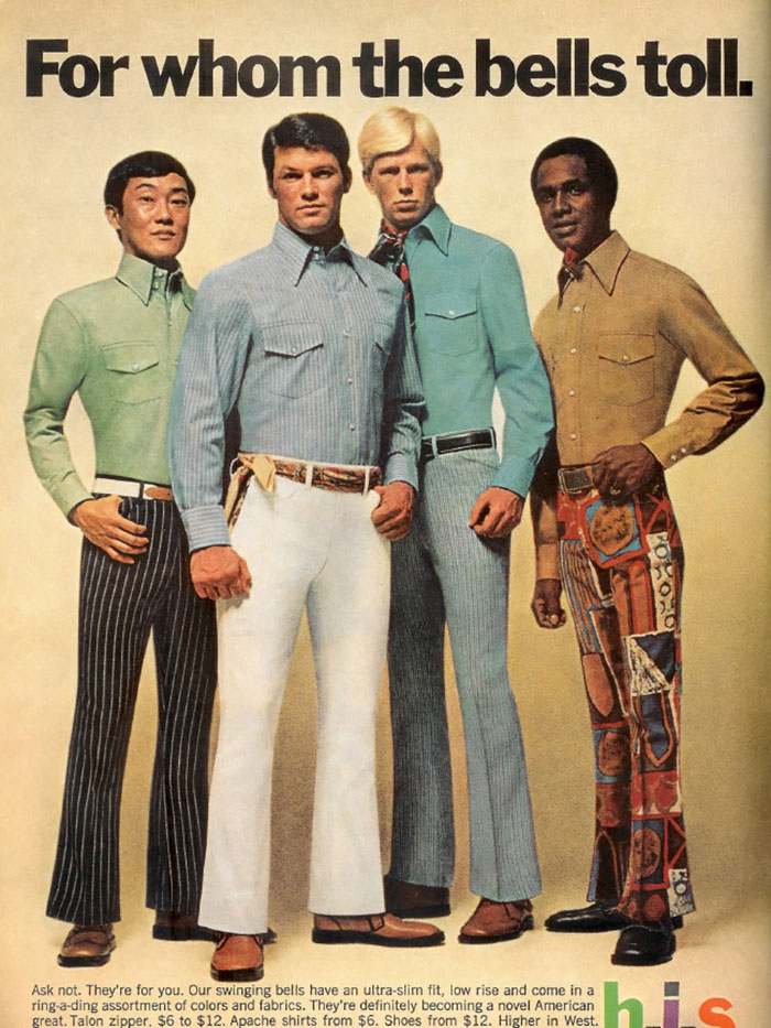 Men's fashion in 1970s