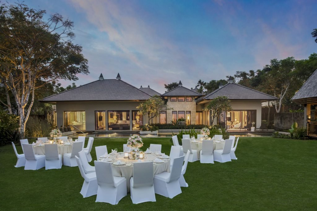 Ritz Carlton Bali Villa Wedding