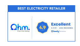 best electricity retailer ohm energy