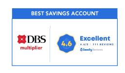 BEST savings account DBS Multiplier