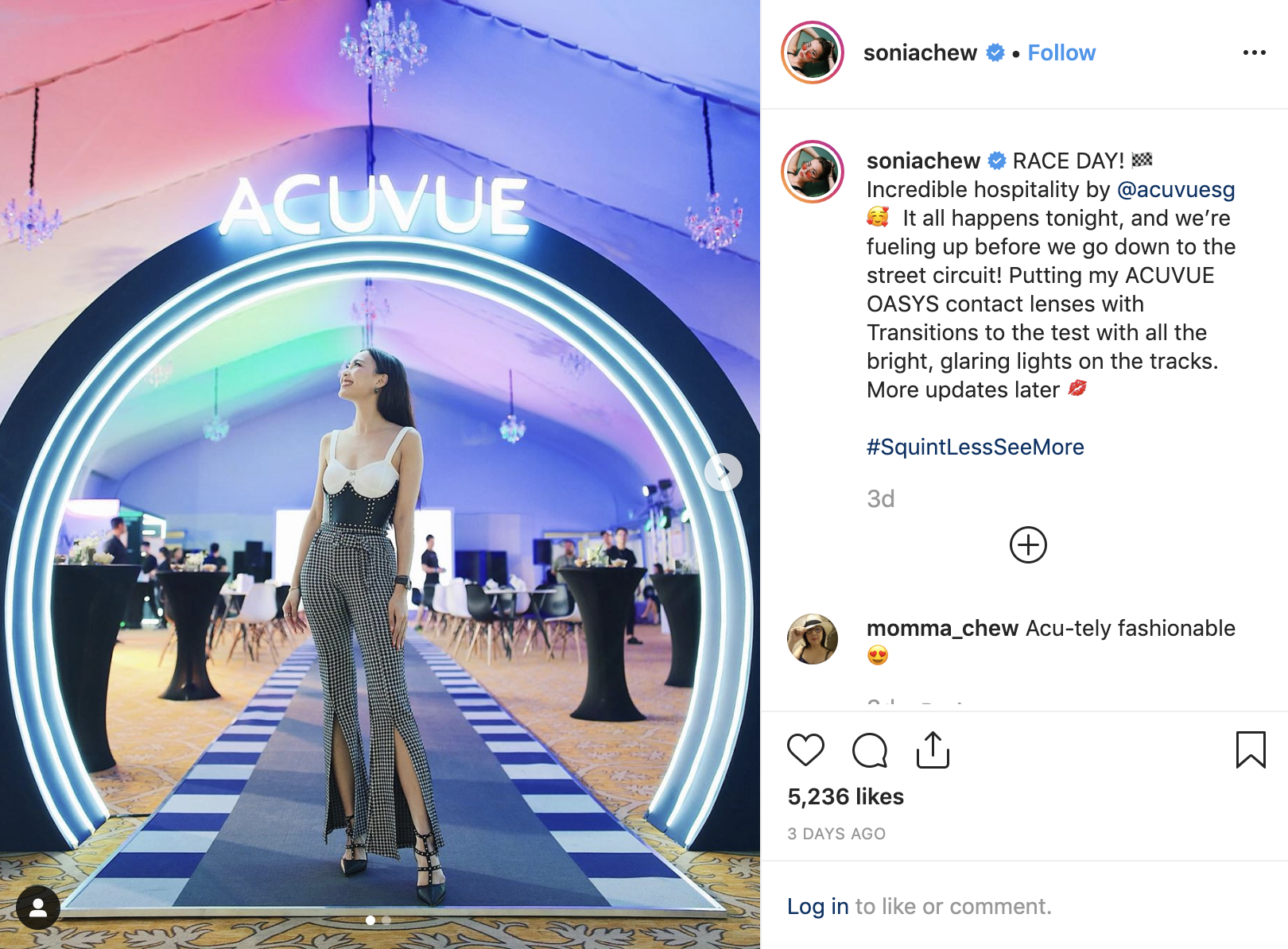 sonia chew acuvue