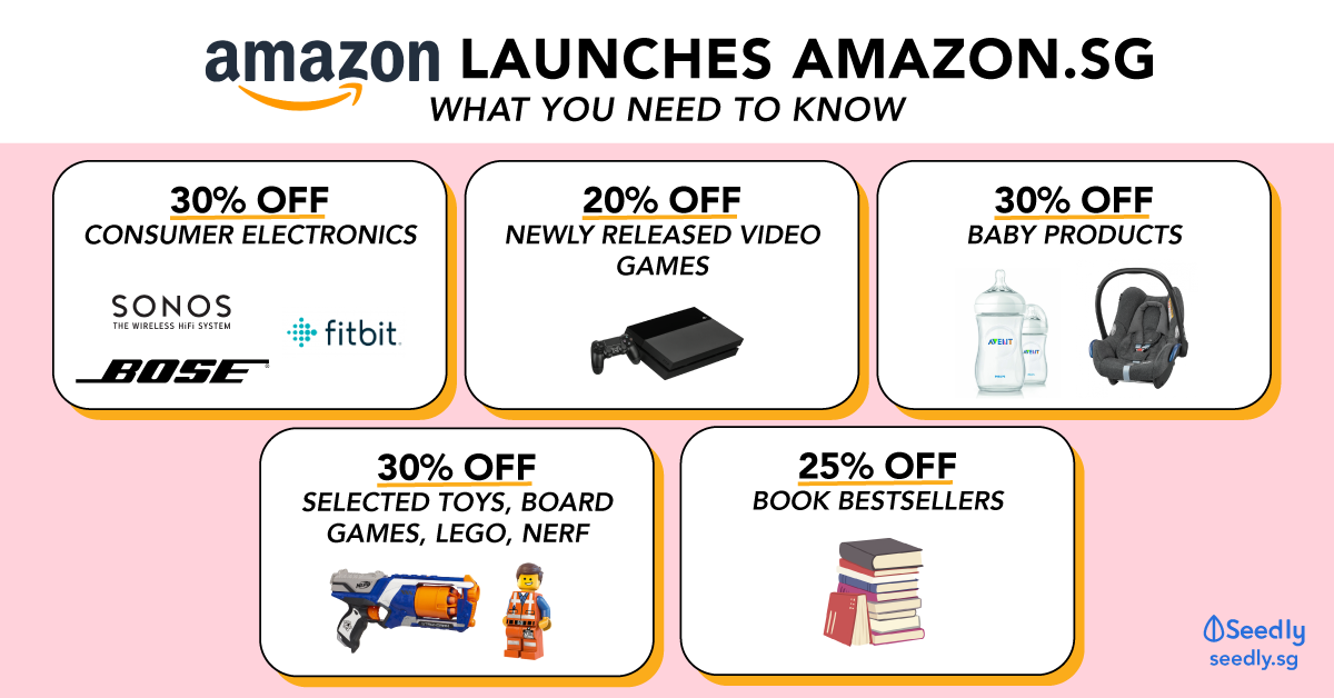Amazon launches amazon.sg