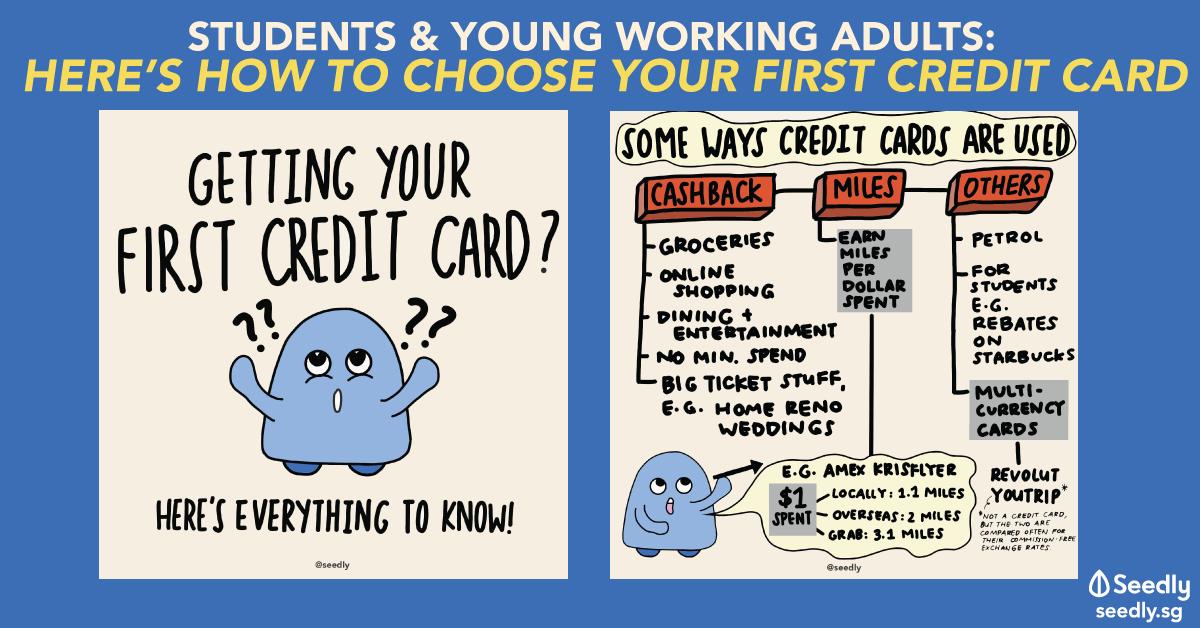 First Credit Card Artwork